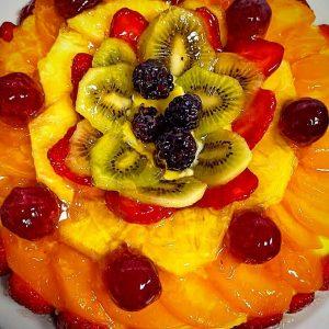 Pastís de fruita fet a casa (Restaurant Cal Roka)