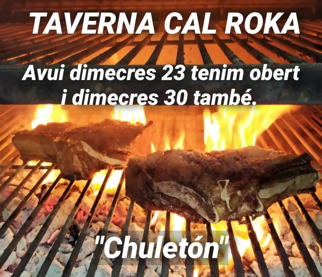 Reserva ya tu mesa en Restaurant Japones Cal Roka para disfrutar de los mejores platos cocinados al horno Josper como es este magnífico Chuletón.